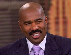 Steve Harvey Credits Success to Wife Valerie