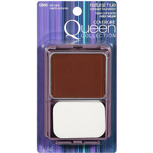 Cover Girl's Queen Latifah Collection  Natural Hue Compact Foundation in Rick Mink