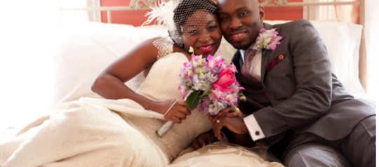 Our Wedding Featured on Black Bridal Bliss